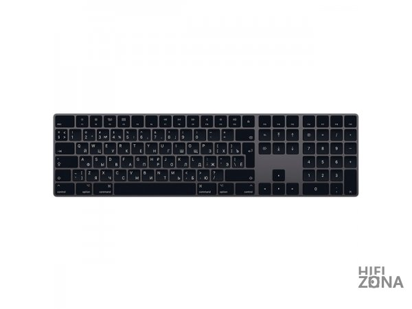 Клавиатура беспроводная Apple Magic Keyboard Numeric Keypad Space Gray MRMH2RS/A