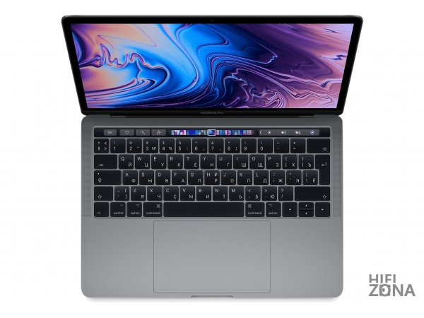 "Ноутбук Apple MacBook Pro 13"" Core i5 2,3 ГГц, 8 ГБ, 512 ГБ SSD, Iris Plus 655, Touch Bar Space Gray «Серый Космос» MR9R2"