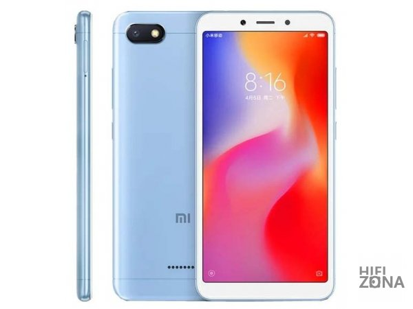 Смартфон Xiaomi Redmi 6A 2/16GB Blue Голубой