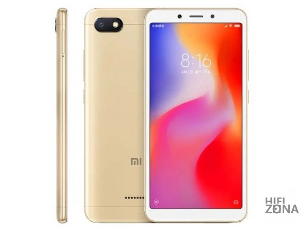 Смартфон Xiaomi Redmi 6A 2/16GB Gold Золотой