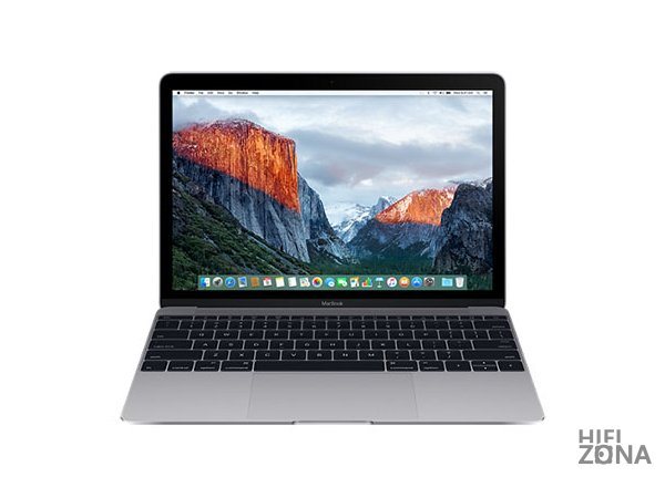 "Ноутбук Apple MacBook 12"" Retina Core m3 1,2 ГГц, 8 ГБ, 256 ГБ Flash, HD 615 Space Gray (Серый Космос) MNYF2"
