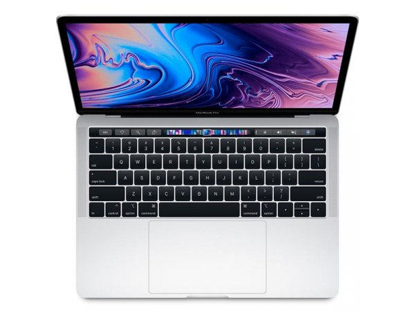 "Ноутбук Apple MacBook Pro 13"" Core i5 2,4 ГГц, 8 ГБ, 256 ГБ SSD, Iris Plus 655, Touch Bar, серебристый MV992"