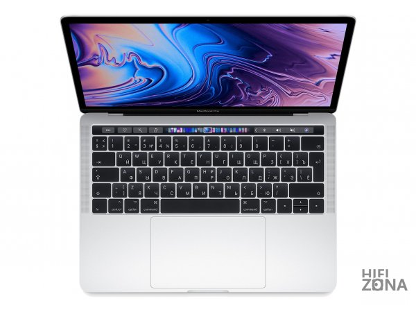 "Ноутбук Apple MacBook Pro 13 2019"" QC i5 1,4 ГГц, 8 ГБ, 128 ГБ SSD, Iris 645, Серебристый MUHQ2RU/A"