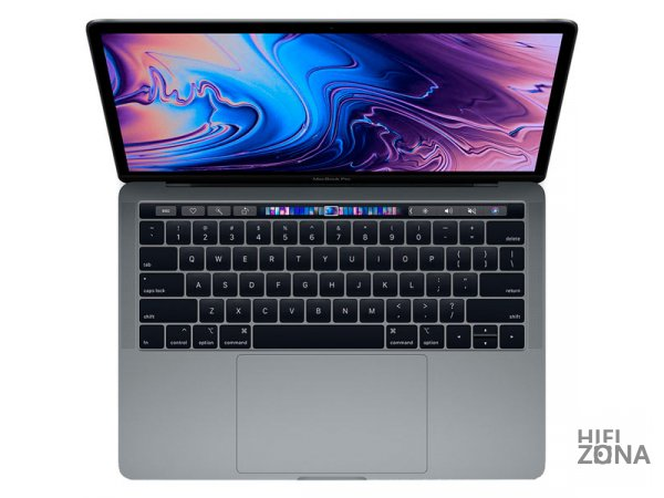 "Ноутбук Apple MacBook Pro 13 2019"" QC i5 1,4 ГГц, 8 ГБ, 128 ГБ SSD, Iris 645  Touch Bar Серый Космос MUHN2RU/A"