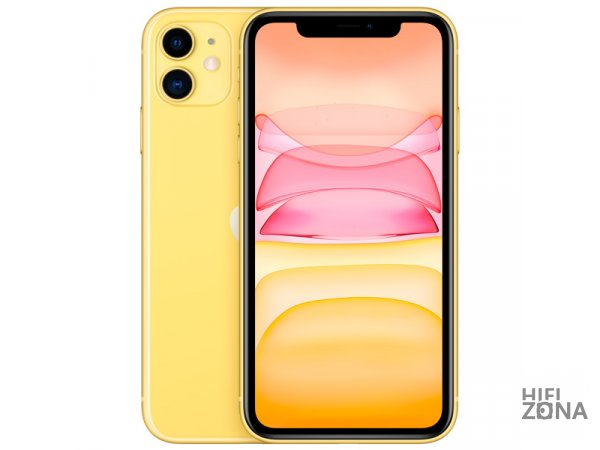 Смартфон Apple iPhone 11 128GB Yellow (MWM42RU/A)